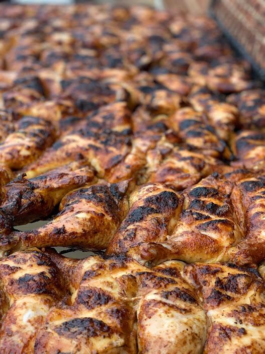 char grill chicken farmers market